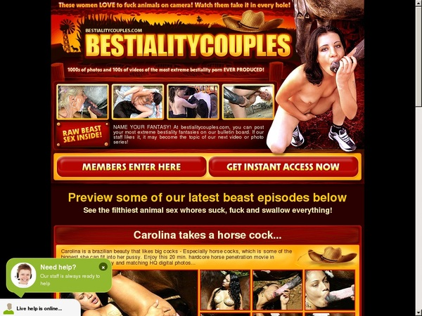 Bestiality Couples Get Access