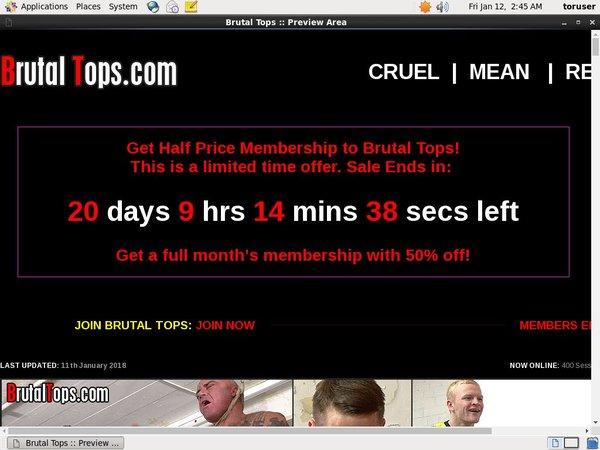 Brutaltops.com Giropay