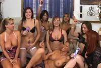 Club Amber Rayne threesome