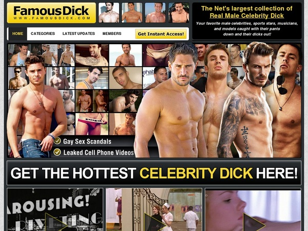 Famous Dick Mobile Pass