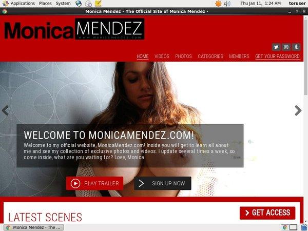 Free Monica Mendez Premium Accounts