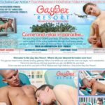 Gay Sex Resort X