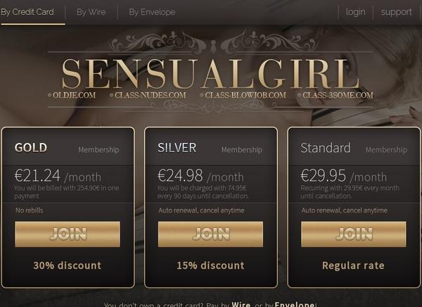 Sensualgirl.com Discount Coupon