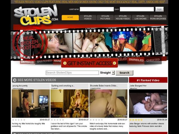 Stolenclips.com Ad