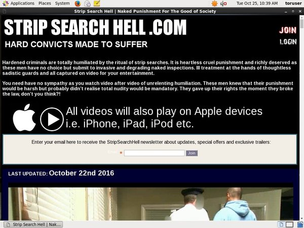 Strip Search Hell Full Website
