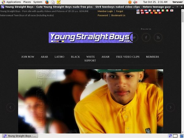 Youngstraightboys.com With Online Check