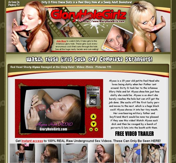 Glory Hole Girlz Model List